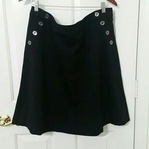 Alfani Black Aline Skirt Size 16